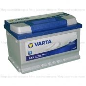 VARTA Blue Dynamic 72 а/ч (обр.пол.) (572 409 068)